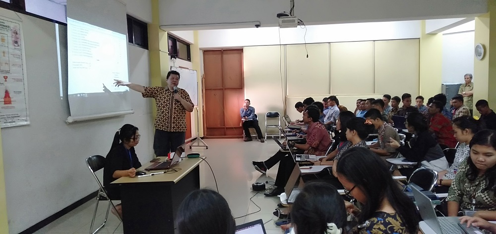 Workshop mahasiswa ecampuz