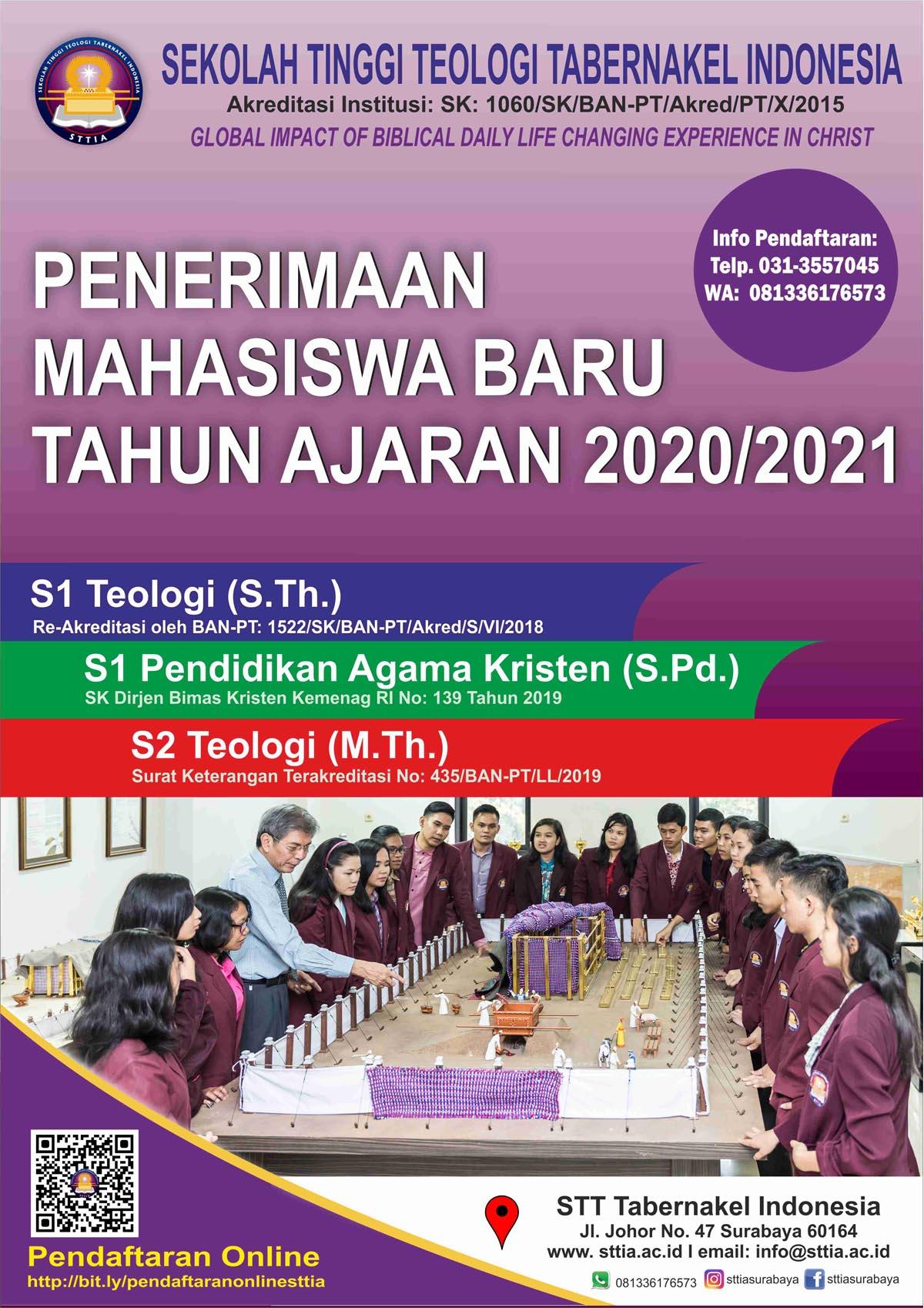 Penerimaan Mahasiswa Baru 2020